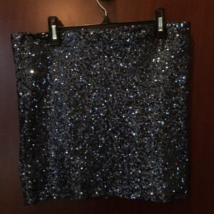 Aqua mini skirt size small